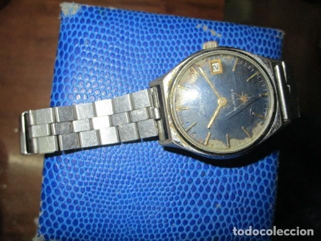 Relojes: DANA PRECIOSO RELOJ ANTIGUO CUERDA Y CALENDARIO NDISTINTO HOMBRE O MUJER FUNCIONA PERFECTO - Foto 2 - 89491964