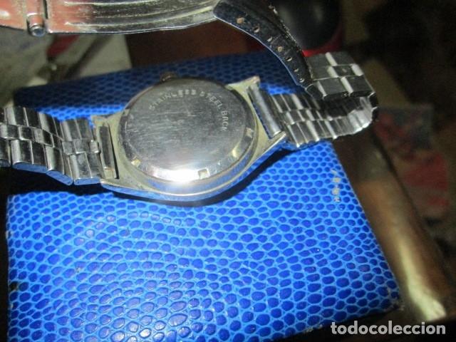 Relojes: DANA PRECIOSO RELOJ ANTIGUO CUERDA Y CALENDARIO NDISTINTO HOMBRE O MUJER FUNCIONA PERFECTO - Foto 11 - 89491964