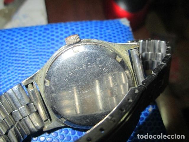 Relojes: DANA PRECIOSO RELOJ ANTIGUO CUERDA Y CALENDARIO NDISTINTO HOMBRE O MUJER FUNCIONA PERFECTO - Foto 13 - 89491964