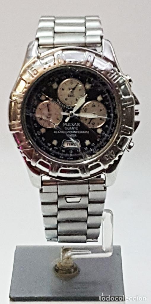 RELOJ PULSAR QUARTZ ALARM-CHRONOGRAPH TIMER N945-6B40. (Relojes - Relojes Actuales - Otros)
