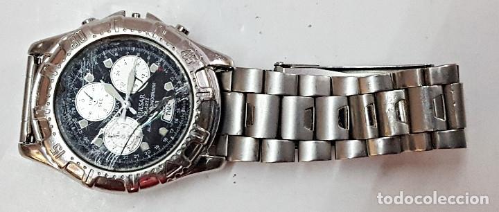 Relojes: Reloj PULSAR QUARTZ ALARM-CHRONOGRAPH TIMER N945-6B40. - Foto 2 - 177189040