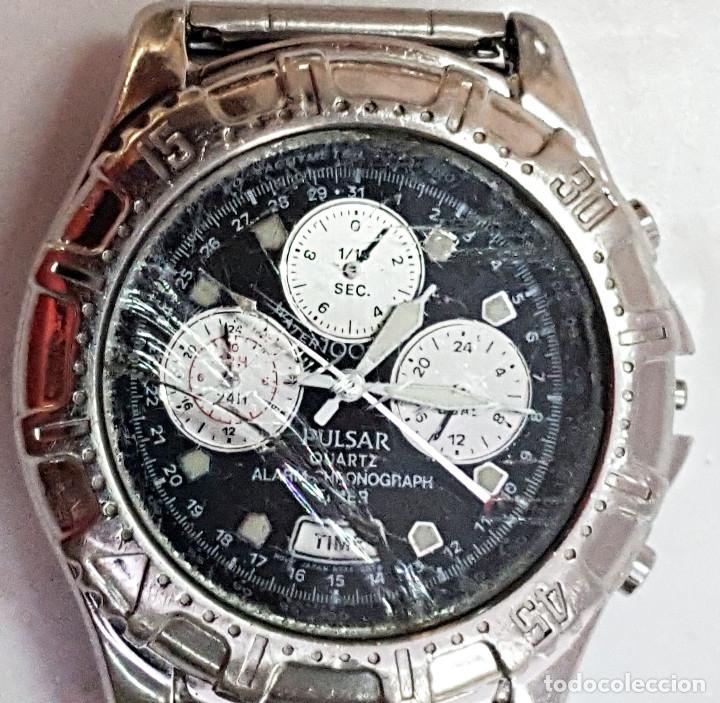 Relojes: Reloj PULSAR QUARTZ ALARM-CHRONOGRAPH TIMER N945-6B40. - Foto 3 - 177189040