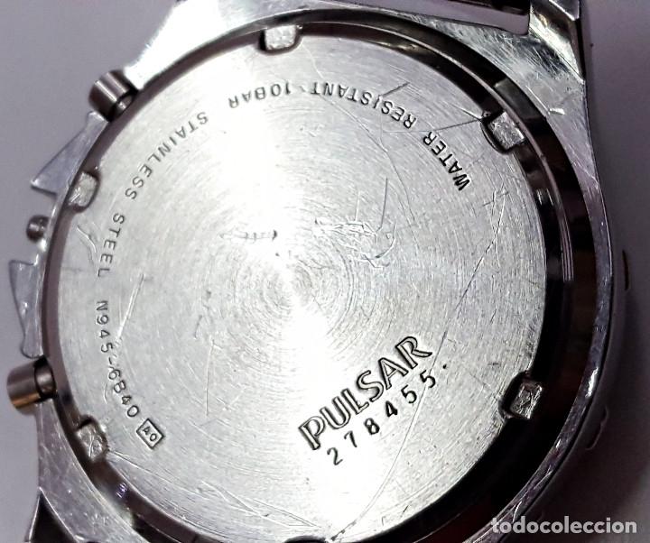 Relojes: Reloj PULSAR QUARTZ ALARM-CHRONOGRAPH TIMER N945-6B40. - Foto 5 - 177189040