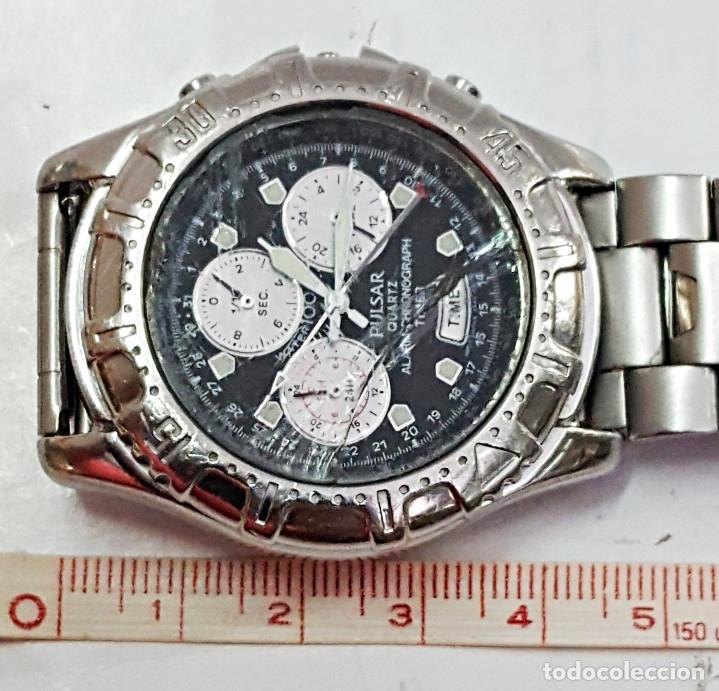 Relojes: Reloj PULSAR QUARTZ ALARM-CHRONOGRAPH TIMER N945-6B40. - Foto 7 - 177189040