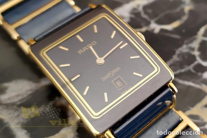 Relojes: Reloj suizo Rado Diastar - con correa de ceramica - Con Pila Nueva - Foto 2 - 237071430