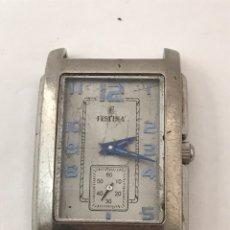 Relojes: RELOJ FESTINA F16197 QUARTZ FUNCIONA , TIENE RAYAS. Lote 178096343