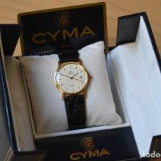 Relojes: RELOJ CYMA EN ORO MACIZO DE 18K ;PRECIOSO .GOLD .750 WATCH .AÑO 1997. Lote 178397461