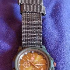 Relojes: RELOJ DE PULSERA QUARTZ TIPO MILITAR. Lote 178670666