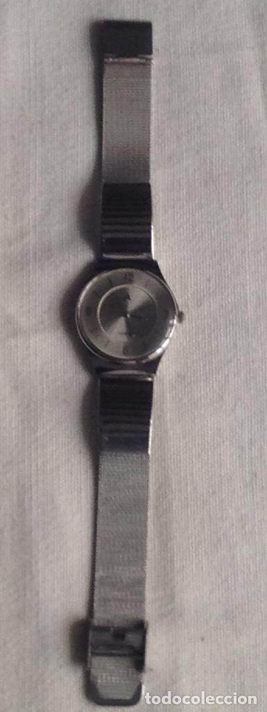 Relojes: RELOJ QUARTZ WATER RESISTANT CON CORREA METALICA, FUNCIONANDO - Foto 3 - 178678480