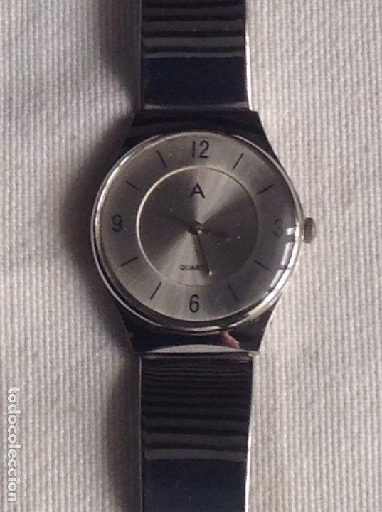 Relojes: RELOJ QUARTZ WATER RESISTANT CON CORREA METALICA, FUNCIONANDO - Foto 2 - 178678480
