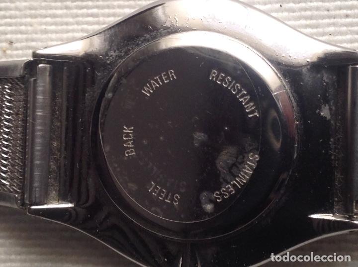 Relojes: RELOJ QUARTZ WATER RESISTANT CON CORREA METALICA, FUNCIONANDO - Foto 5 - 178678480