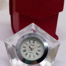 Relojes: RELOJ DE MESA CANRY QUARTZ. Lote 178711168