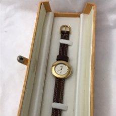 Relojes: RELOJ KERN CUARZO UNISEX SIN USAR CHAPADO DE ORO. Lote 178726590
