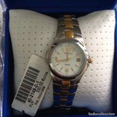 Relojes: RELOJ DE PULSERA POTENS QUARTZ ACERO & ORO. Lote 178875740