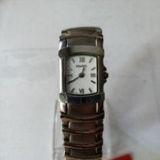 Relojes: RELOJ DUWARD. CORREA DE ACERO.NUEVO. STOCK DE ANTIGUA RELOJERÍA.. Lote 179047231