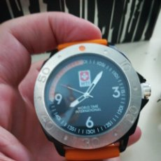 Relojes: WORLD TIME INTERNATIONAL. Lote 179099496