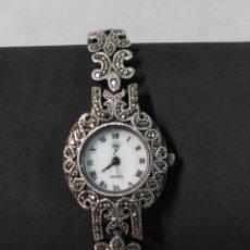 Relojes: RELOJ DE PULSERA DIAMOND, EN PLATA, ESTILO ART NOVEAU, FUNCIONANDO. Lote 179188393