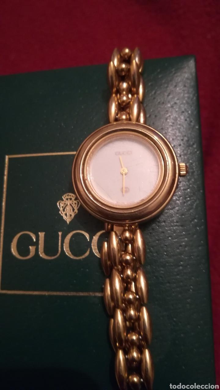 RELOJ DE SEÑORA GUCCI, CHAPADO EN ORO DE 18KILATES (Relojes - Relojes Actuales - Otros)