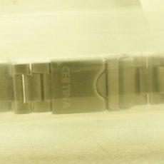 Relojes: ARMYS ACERO ORIGINAL CERTINA NUEVO ENVASADO 21MM. Lote 179309047