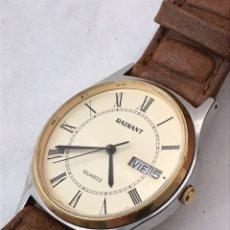 Relojes: RELOJ RADIANT DOBLE CALENDARIO CABALLEROS. Lote 179393057