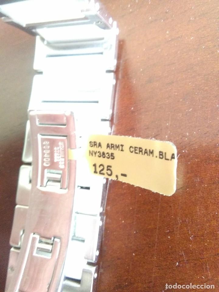 Relojes: reloj de pulsera de señora DKNY de ceramica blanca y acero inoxidable.nuevo.sin caja.dona karan.. - Foto 3 - 179954436