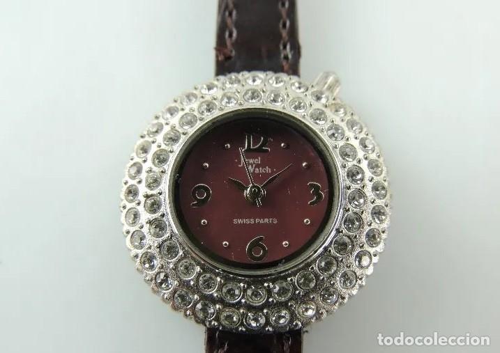 Relojes: RELOJ DE PULSERA JEWEL WATCH SWISS PARTS - Foto 3 - 180097658