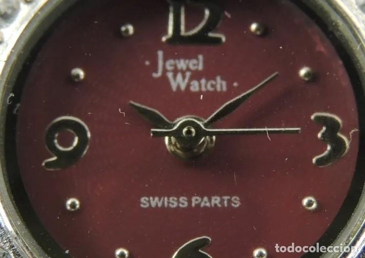 Relojes: RELOJ DE PULSERA JEWEL WATCH SWISS PARTS - Foto 4 - 180097658