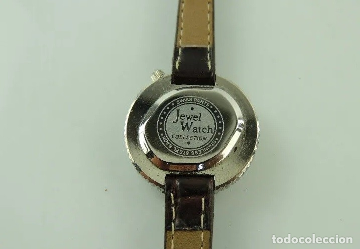 Relojes: RELOJ DE PULSERA JEWEL WATCH SWISS PARTS - Foto 8 - 180097658
