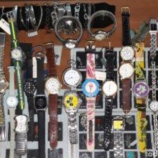Relojes: INTERESANTE LOTE 25 RELOJES. Lote 180221406