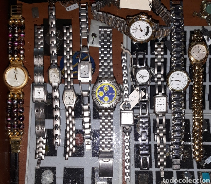 INTERESANTE LOTE 12 RELOJES (Relojes - Relojes Actuales - Otros)