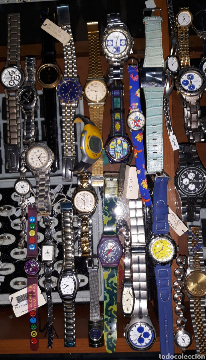 Relojes: Interesante lote 84 relojes - Foto 2 - 180296791