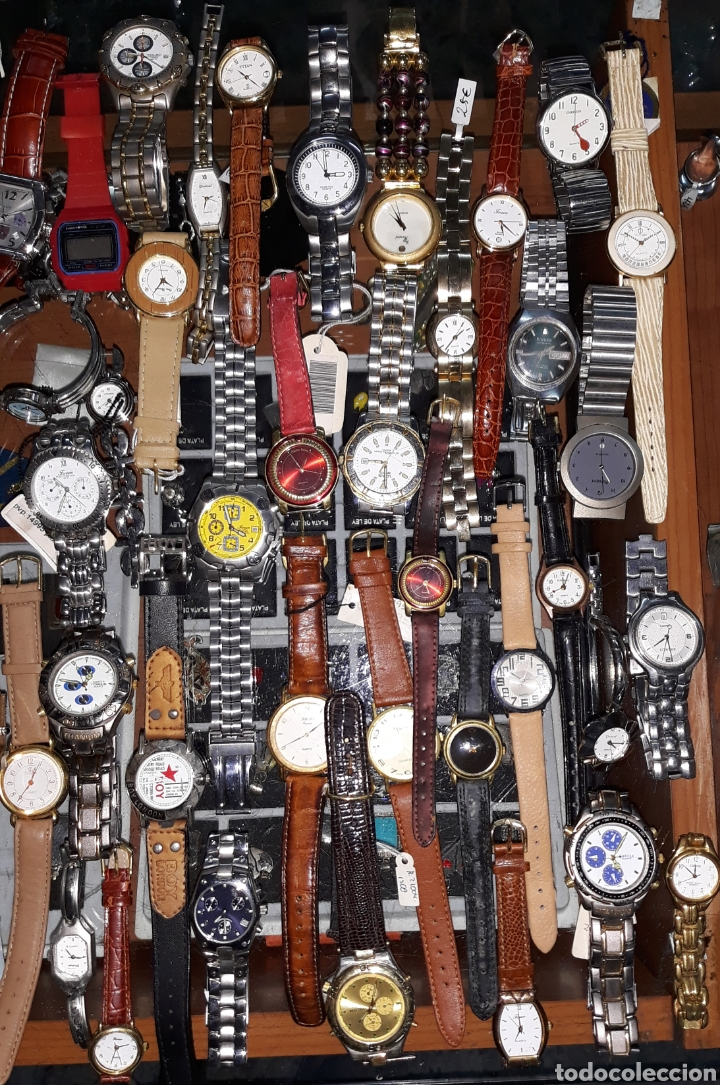 Relojes: Interesante lote 84 relojes - Foto 4 - 180296791