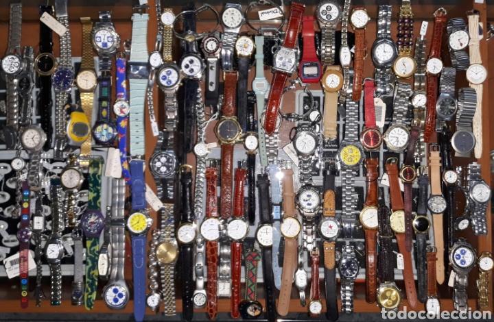 INTERESANTE LOTE 84 RELOJES (Relojes - Relojes Actuales - Otros)