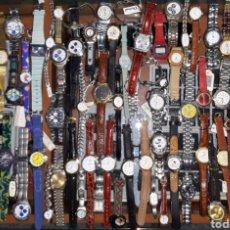 Relojes: INTERESANTE LOTE 84 RELOJES. Lote 180296791