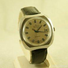 Relojes: HELVETIA SWISSONIC ELECTRONIC 38.7MM PILA Y VOLANTE. Lote 180398713