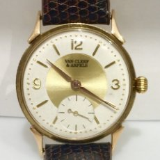 Relojes: VAN CLEEF&ARPELS -ORO 18KTS.-AÑOS 40 ¡¡COMO NUEVO!!. Lote 107944391