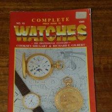 Relojes: CATALOGO GUIA PRECIO RELOJES COMPLETE PRICE GUIDE TO WATCHES AÑO 1995. Lote 180845320