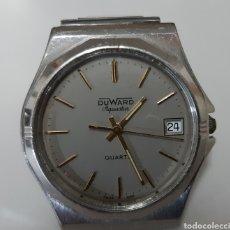 Relojes: RELOJ DUWARD DE CUARZO EN FUNCIONAMIENTO. Lote 180933378