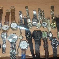 Relojes: COLECCIÓN DE 52 RELOJES (DUWARD, LAMBDA, TITAN, SEIKO, FESTINA, RADIANT, LOTUS, ETC...). Lote 180960238
