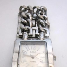 Relojes: RELOJ DE PULSERA MUJER G.W.G. QUARTZ WATER RESISTANT STAINLESS STEEL BACK . Lote 181709270
