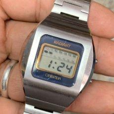 Relojes: RELOJ RADIANT ORBITER QUARTZ LCD STAINLESS STEEL. Lote 181761707