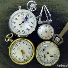 Relojes: 4 RELOJES LOTE. Lote 181858816