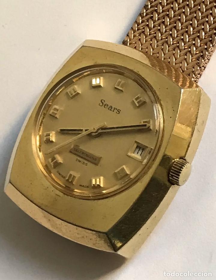 Relojes: Reloj vintage SEARS SICURA SELFWINDING AUTOMÁTIC CALENDAR SWISS MADE - Foto 3 - 181941310