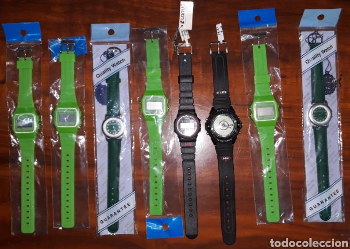LOTE 8 RELOJES (Relojes - Relojes Actuales - Otros)