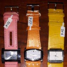 Relojes: LOTE 3 RELOJES. Lote 182078138