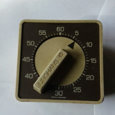 Relojes: ANTIGUO TEMPORIZADOR MANUAL MAQUINARIA ALEMANA. Lote 182748060