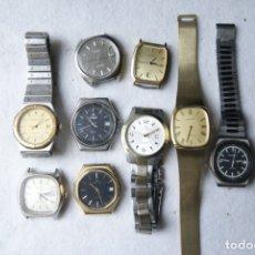 Relojes: LOTE DE RELOJES SUIZOS QUARTZ SIN COMPROBAR ZODIAC CERTINA...F60. Lote 182992287