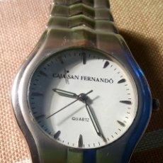 Relojes: RELOJ DE LA CAJA SAN FERNANDO DE SEVILLA. FUNCIONANDO. PILA NUEVA NOV.2019. 36.4 MM. S/C. FOTOS.. Lote 183645533