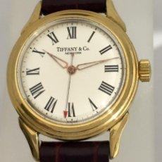 Relojes: TIFFANY&CO VINTAGE PLAQUÈ ORO 18KTS.. Lote 183742770