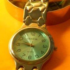 Relojes: RELOJ GENEVA QUARTZ. FUNCIONANDO. PILA NUEVA NBRE 2019. 31.9 MM. S/C. FOTOS VARIAS.. Lote 183888615